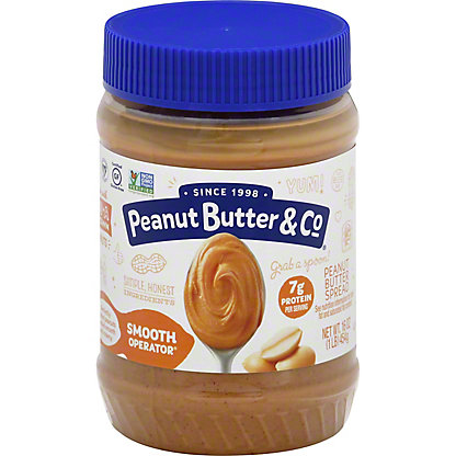 Peanut Butter & Co. Smooth Operator Peanut Butter, 16 OZ