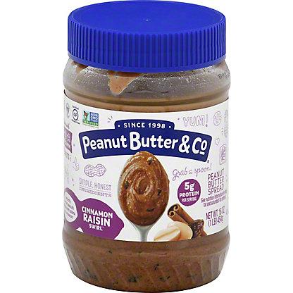 Peanut Butter & Co. Cinnamon Raisin Swirl Peanut Butter,16 OZ