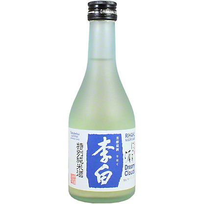 Rihaku Dreamy Clouds Nigori Sake, 300 mL