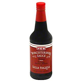 H-E-B Worcestershire Sauce, 15 oz