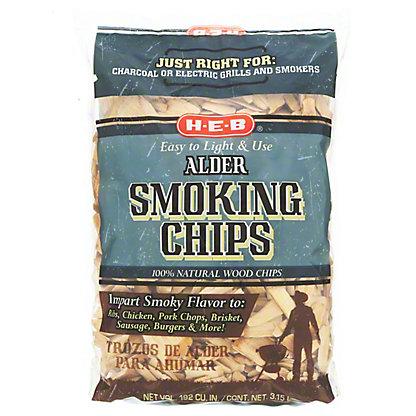 H E B Alder Smoking Wood Chips 192 Cu In Central Market