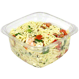 Central Market Orzo with Shrimp and Feta Salad