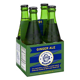 Boylan Bottleworks Ginger Ale Soda, 4 PK Bottles,12 OZ
