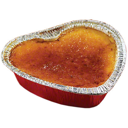 Central Market Heart Shaped Creme Brulee