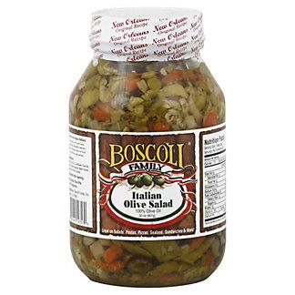 Boscoli Italian Olive Salad, 32 OZ