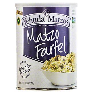 Yehuda Matzos Jerusalem Matzo Farfel, 16 oz