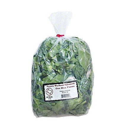 Oak Hill Farms Cora Lamar's Spinach, 10 OZ