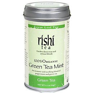 Rishi Tea Organic Green Tea Mint, 2.1 oz