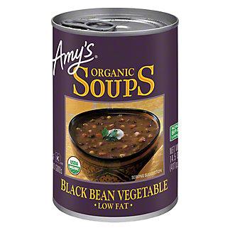 Amy's Organic Low Fat Black Bean Vegetable Soups, 14.5 oz