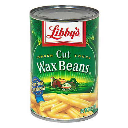 Libby's Tender Young Cut Wax Beans, 14.5 oz