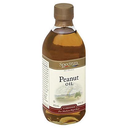 Spectrum Naturals High Oleic Unrefined Peanut Oil,16.00 oz