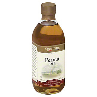 Spectrum Naturals High Oleic Unrefined Peanut Oil,16.00 oz