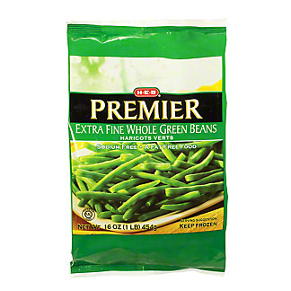 H-E-B Premiere Extra Fine Whole Green Beans,16 oz