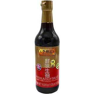 Lee Kum Kee Premium Soy Sauce, 16.9 oz