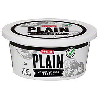 H-E-B Regular Cream Cheese Spread,8.00 oz