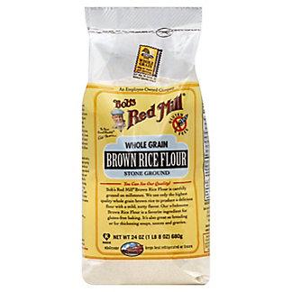 Bob's Red Mill Whole Grain Stone Ground Brown Rice Flour, 24 oz