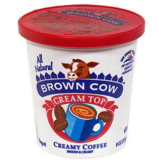 Brown Cow Cream Top Creamy Coffee Yogurt, 5.3 oz