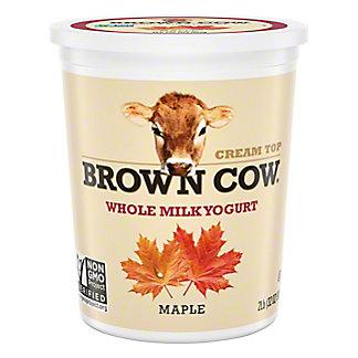 Brown Cow Cream Top Maple Yogurt,32 OZ