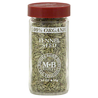 Morton & Bassett Morton and Bassett Organic Fennel Seed,1.20 oz