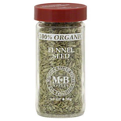 Morton & Bassett Morton and Bassett Organic Fennel Seed,1.20 oz