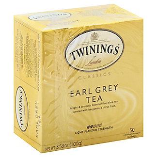 Twinings Earl Grey Tea, 50 ct