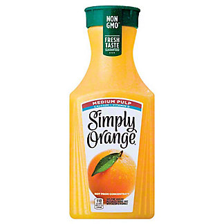 Simply Orange Simply Orange Calcium & Vitamin D Medium Pulp Orange Juice,59.00 oz