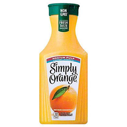 Simply Orange Simply Orange Calcium & Vitamin D Medium Pulp Orange Juice,59.00 oz