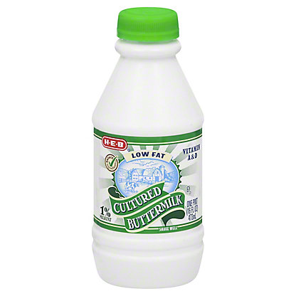 H-E-B H-E-B Low Fat Cultured 1% Milkfat Buttermilk,1 PT