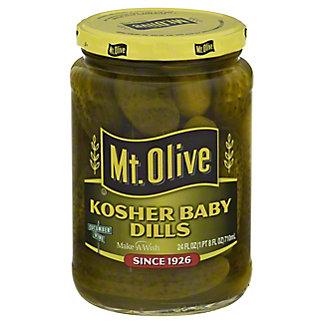 Mt. Olive Kosher  Baby Dills,24 OZ