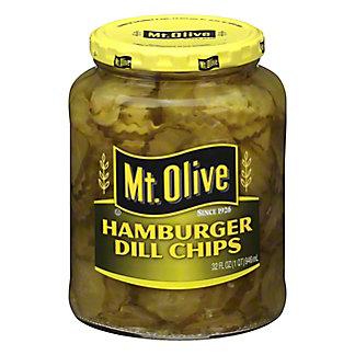 Mt. Olive Hamburger Dill Chip, 32 oz
