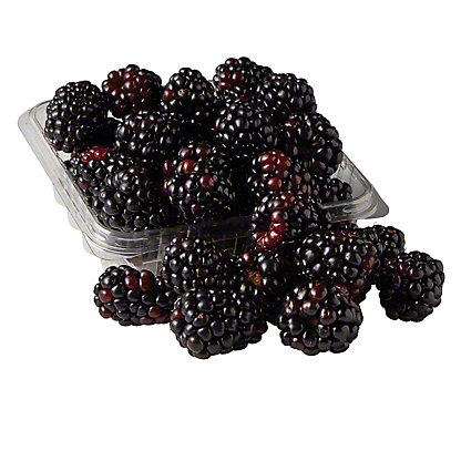 Fresh Organic Blackberries, 6 oz