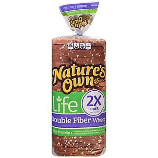 Nature's Own Life: Double Fiber Wheat Bread,20 OZ