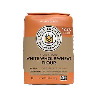 King Arthur Unbleached White Whole Wheat Flour, 5 lbs