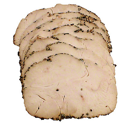 Emil's Gourmet Peppered Turkey Breast,LB