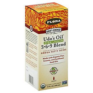 Flora Udo's Choice Oil High Lignan 3-6-9 Blend, 17 oz