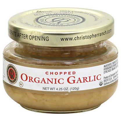 Fresh Chopped Organic Garlic,4.25OZ