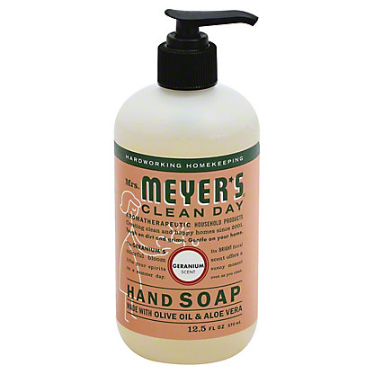 Mrs. Meyer's Clean Day Geranium Scent Liquid Hand Soap, 12.5 oz