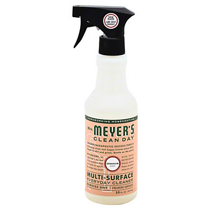 Mrs. Meyer's Geranium Multi Surface Cleaner, 16 oz