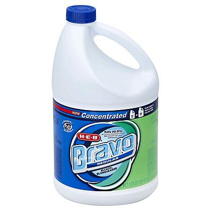 H-E-B Bravo Concentrated Regular Bleach,121 OZ