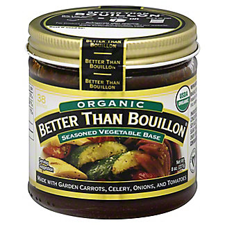 Better Than Bouillon Organic Vegetable Base,8 oz