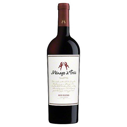 Folie a Deux Menage a Trois Red Wine, 750 mL