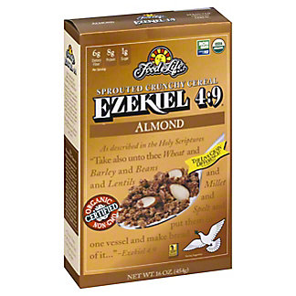 Food For Life Ezekiel 4:9 Almond Cereal, 16 oz