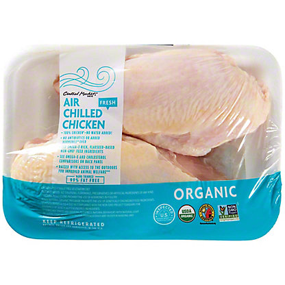 Central Market Organic Split Chicken Breast