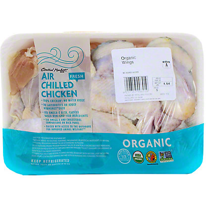 Central Market Organic Chicken Wings,LB