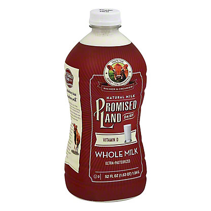 Promised Land Whole Milk, 52 oz