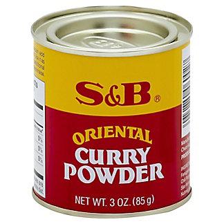 S&B Oriental Curry Powder, 3 oz
