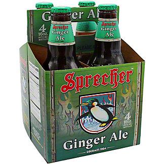 Sprecher Soda 4 Pack Ginger Ale, 4 pk