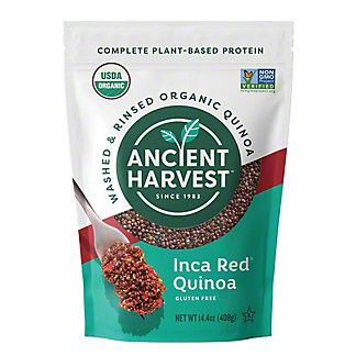 Ancient Harvest Organic Gluten Free Inca Red Quinoa, 120 oz