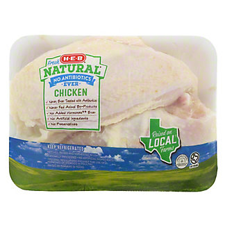 H-E-B Natural Bone In Split Chicken Breast