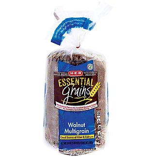 H-E-B Essential Grains Walnut Multigrain Bread,24 OZ